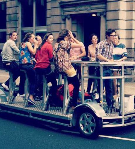 London - Hen Party Packages - Cycle Drink Tour